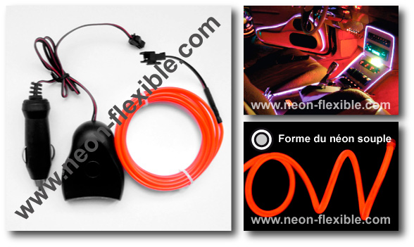 Neon tuning auto capteur son